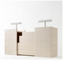 Kotoli Picnic Box Designed by Nendo for Ruinart - Featured Image