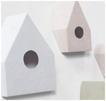 Nonslip Alcantara Birdhouse by Nendo - Featured Image